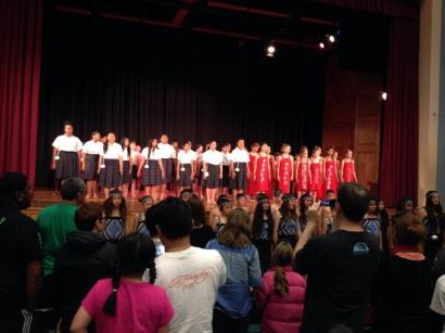 At the end of the school year, schools participate in a junior Kapa Haka Festival.